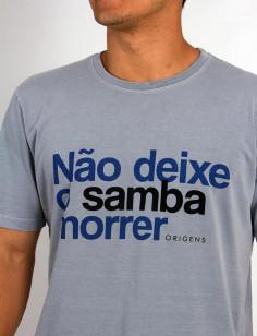 Camiseta Origens Não Deixe o Samba Morrer