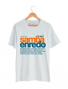 CAMISETA SAMBA ENREDO ORIGENS