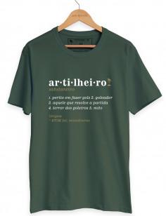 Camiseta Artilheiro Origens