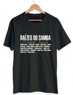 CAMISETA RAÍZES DO SAMBA ORIGENS