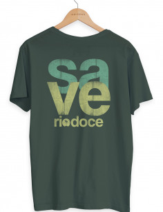 Camiseta Save Rio Doce Origens