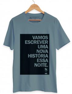 CAMISETA NOVA HISTÓRIA ORIGENS
