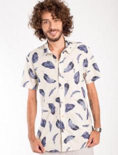 Camisa de Botão Origens Plumas