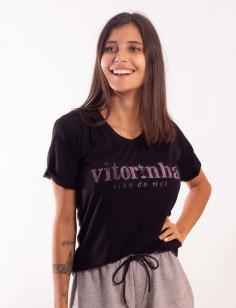 Camiseta Feminina Origens Vitorinha Muda