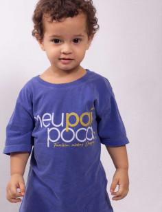 Camiseta Meu Pai Poca Infantil Origens